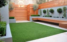Artificial Turf and Plants
